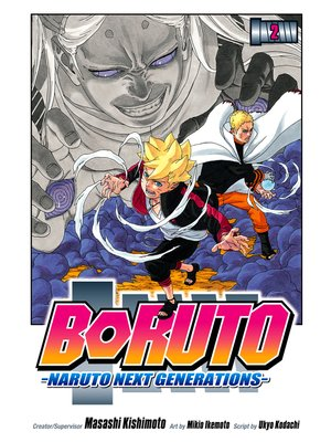 cover image of Boruto: Naruto Next Generations, Volume 2