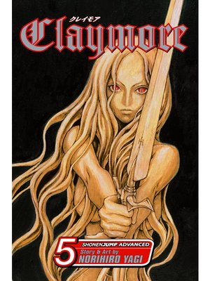 cover image of Claymore, Volume 5