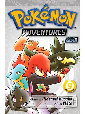 cover image of Pokémon Adventures, Volume 9