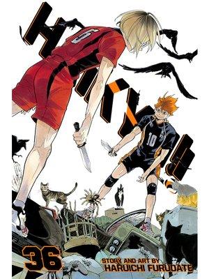 cover image of Haikyu!!, Volume 36