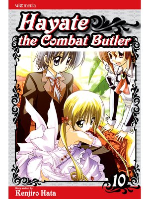 cover image of Hayate the Combat Butler, Volume 10