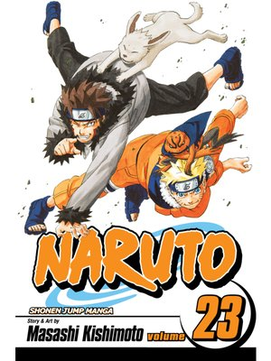 cover image of Naruto, Volume 23