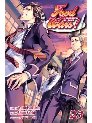 cover image of Food Wars!: Shokugeki no Soma, Volume 23