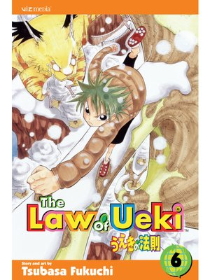 cover image of The Law of Ueki, Volume 6
