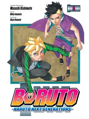 cover image of Boruto: Naruto Next Generations, Volume 9