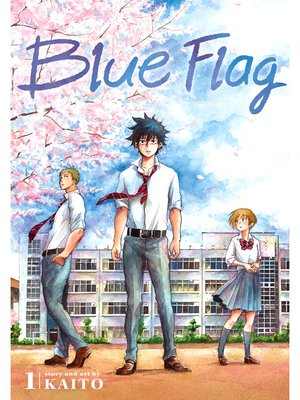 cover image of Blue Flag, Volume 1
