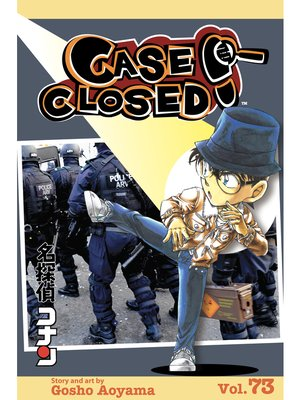 cover image of Case Closed, Volume 73