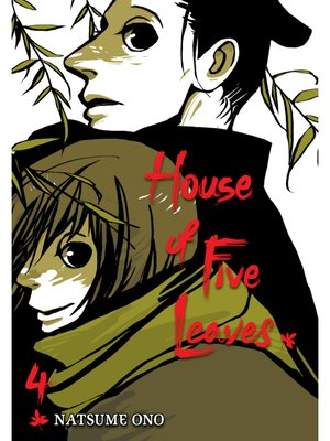 cover image of House of Five Leaves, Volume 4