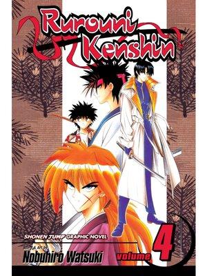 cover image of Rurouni Kenshin, Volume 4