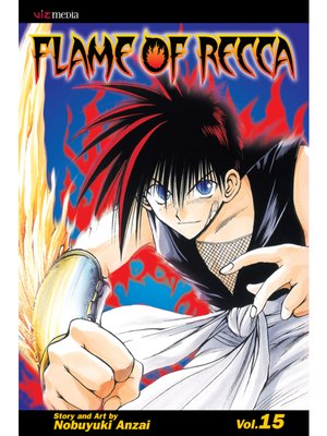 cover image of Flame of Recca, Volume 15