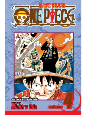 cover image of One Piece, Volume 4