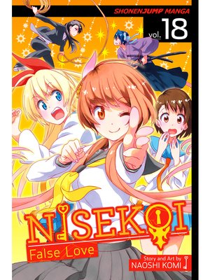 cover image of Nisekoi: False Love, Volume 18