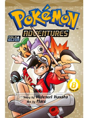cover image of Pokémon Adventures, Volume 8