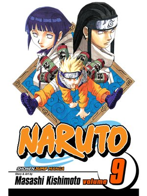 cover image of Naruto, Volume 9