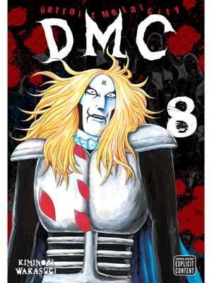 cover image of Detroit Metal City, Volume 8
