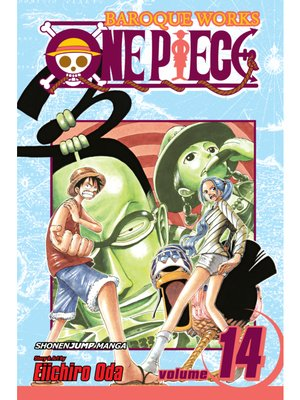cover image of One Piece, Volume 14