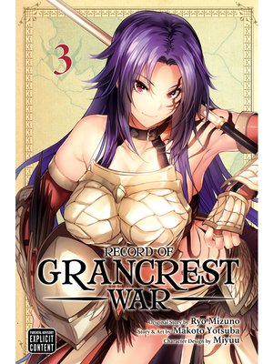 cover image of Record of Grancrest War, Volume 3