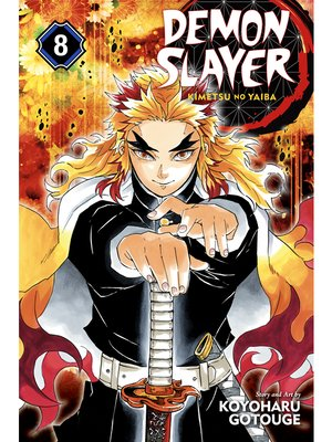 cover image of Demon Slayer: Kimetsu no Yaiba, Volume 8