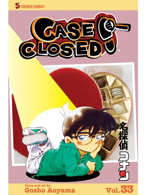 cover image of Case Closed, Volume 33