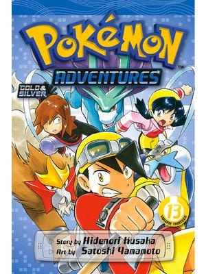 cover image of Pokémon Adventures, Volume 13