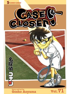 cover image of Case Closed, Volume 71