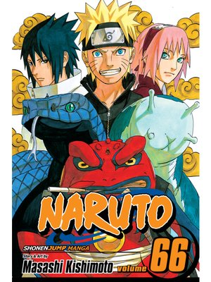cover image of Naruto, Volume 66