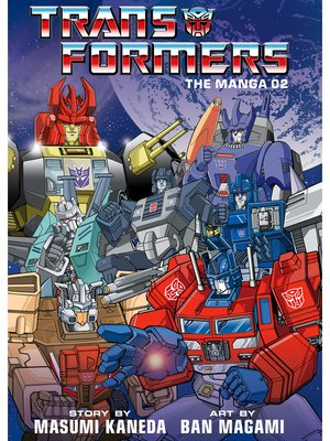 cover image of Transformers: The Manga, Volume 2