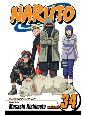 cover image of Naruto, Volume 34