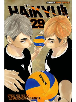 cover image of Haikyu!!, Volume 29