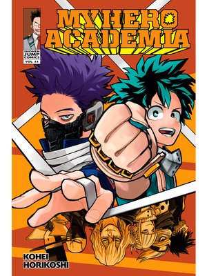cover image of My Hero Academia, Volume 23