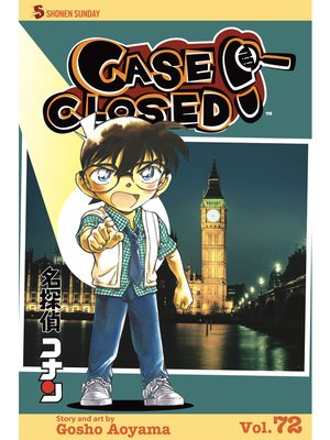 cover image of Case Closed, Volume 72