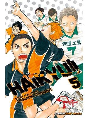 cover image of Haikyu!!, Volume 5
