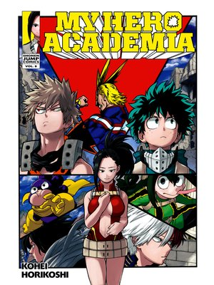 cover image of My Hero Academia, Volume 8