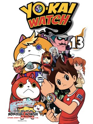 cover image of YO-KAI WATCH, Volume 13
