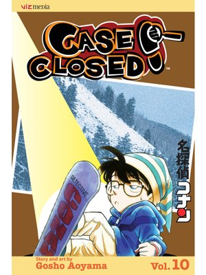 cover image of Case Closed, Volume 10