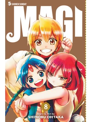 cover image of Magi: The Labyrinth of Magic, Volume 8