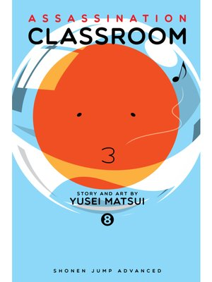 cover image of Assassination Classroom, Volume 8