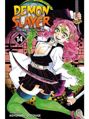 cover image of Demon Slayer: Kimetsu no Yaiba, Volume 14