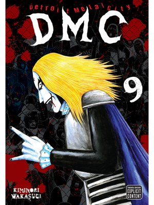 cover image of Detroit Metal City, Volume 9