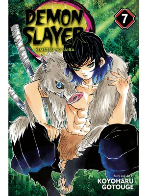 cover image of Demon Slayer: Kimetsu no Yaiba, Volume 7