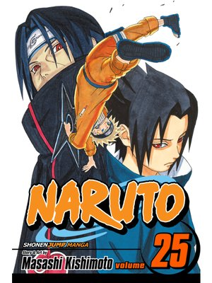 cover image of Naruto, Volume 25