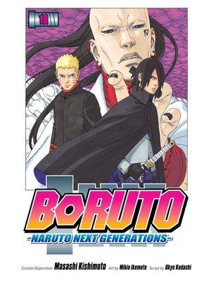 cover image of Boruto: Naruto Next Generations, Volume 10