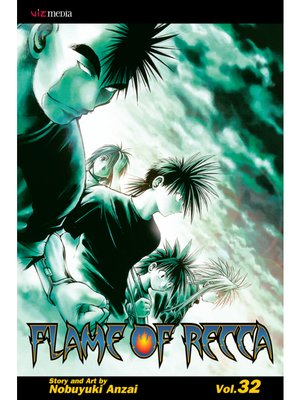 cover image of Flame of Recca, Volume 32
