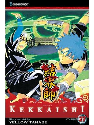 cover image of Kekkaishi, Volume 27