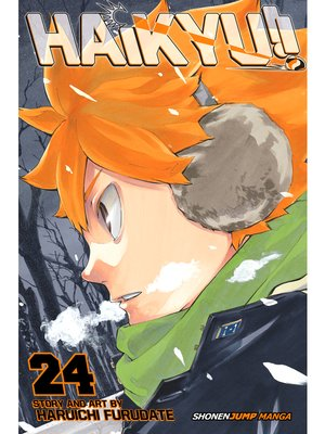 cover image of Haikyu!!, Volume 24