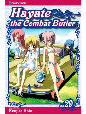 cover image of Hayate the Combat Butler, Volume 29