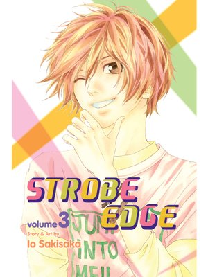 cover image of Strobe Edge, Volume 3