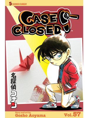 cover image of Case Closed, Volume 57