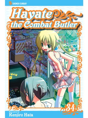 cover image of Hayate the Combat Butler, Volume 34