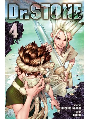 cover image of Dr. STONE, Volume 4